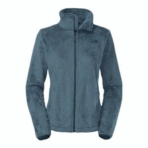 The North Face furry teddy Osito Jacket Blue, S